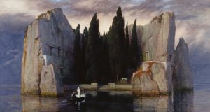 "Arnold_Böcklin. ""Die_Toteninsel"" (III). Alte Nationalgalerie Berlin."