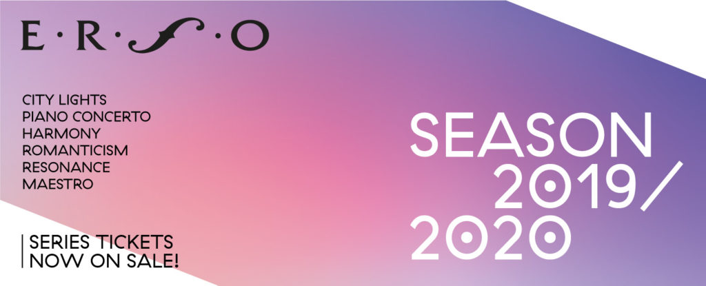 Concert series 2019/2020 now on sale! | ERSO